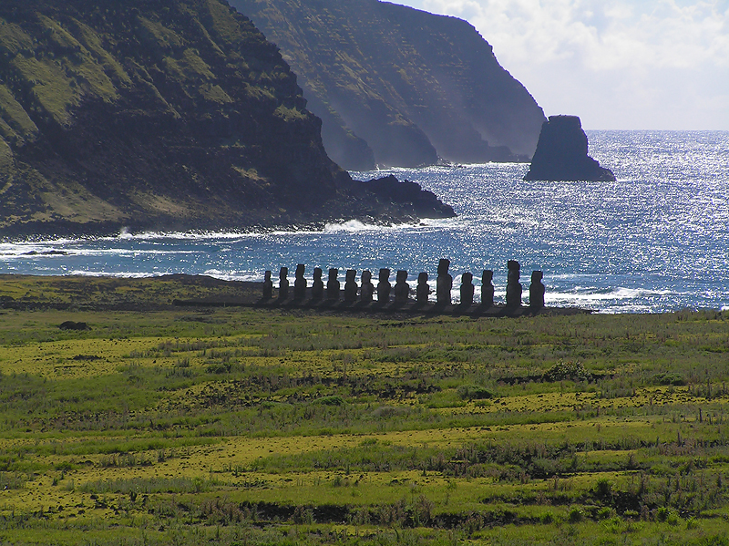 Another area of moai