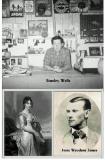 Cousins Stanley Wells, Jesse James & Dolley Madison