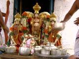 raghavan and chakratAzhvan theerthavari thirumanjanam.JPG