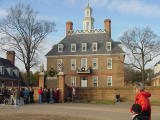 Well, time to visit the Governor's Palace!
