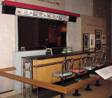 This is the actual Woolworth's counter from the famous civil rights sit-down of the early 1960's.  If you enlarge the photo, you can see what things cost back at that time.