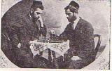 Playing Chess -  Menachem Eldovi  and Rabbi David Avigdor  (605)
