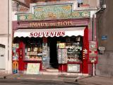Blois: souvenir shop
