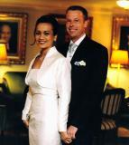 Shafinaz and Jonas's wedding reception in Stockholm on Feb 23, 2002