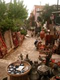 24 Kalkan street with urchin