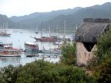 30 Lycian tomb with Ucagiz yachts