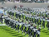 The MSU marching band