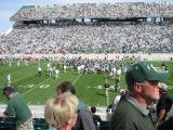 The game is over, MSU beats CMU