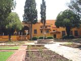 The hacienda, now a museum with