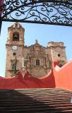 The Valenciana church, 18th century