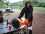 Ines' party at Lake Temescal