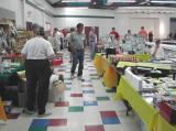 Another view of the vendor's aisle at the Caty Cavins Center.