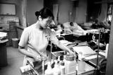 Nurse Preparing IV