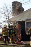 Long Hill Cross Rd. Fire (Shelton) 12/17/04