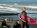 21st October, surf's up