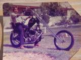 Triley Davidrumph built in Tempe Arizona by Kenny Howard