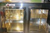 cella inox con porte trasparenti - banco bar