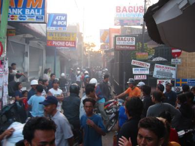 Bali, pub bagus on Right (down poppies lane)