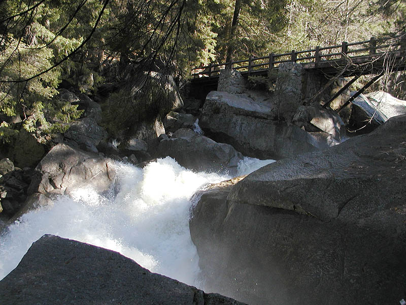 Vernal fall bridge