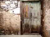 Characteristic  doors and windows of Gran Canaria