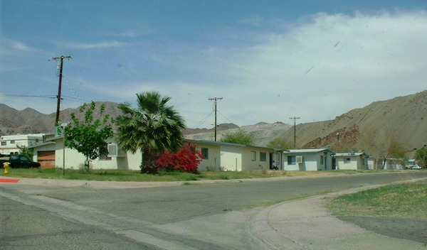 12-houses that are occupied on the north side of Yucca Dr.