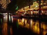 Riverwalk in the Rain