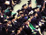 Post grad students are amused