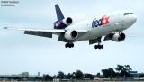 FedEx DC10-10(F) N395FE (ex-United Airlines N1830U) aviation stock photo