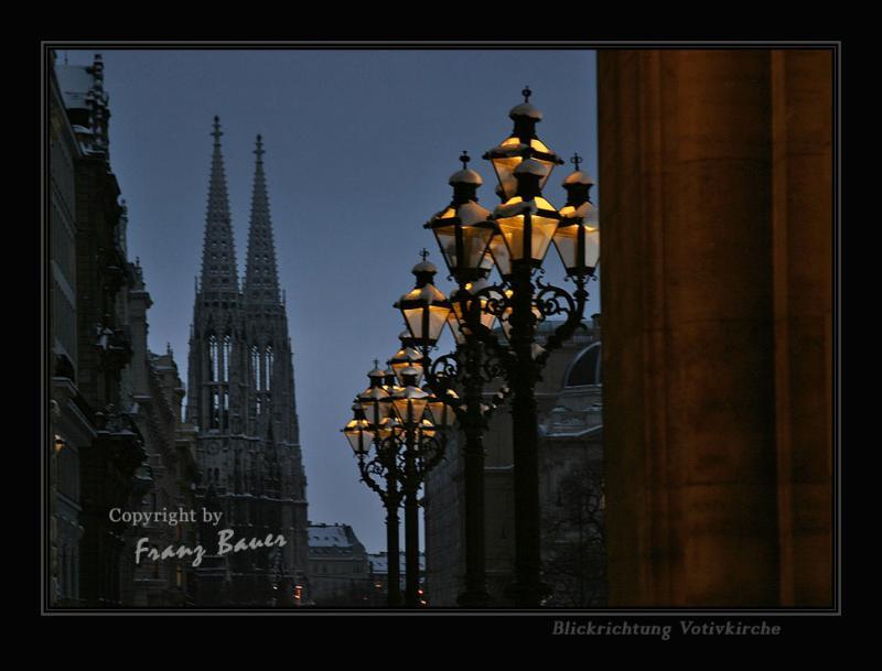 Rathaus-Votivkirche,Vienna