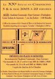 LaChoraline - concert 5 et 6 mai 2005 - Détails pratiques...