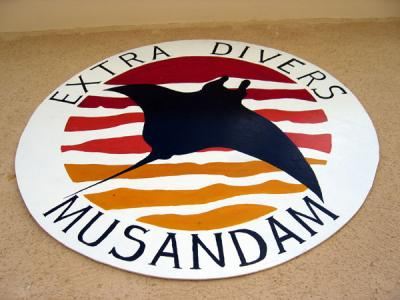 Extra Divers Musandam, part of a chain of German dive centers
