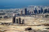 Burj Dubai Residences and Downtown Dubai construction site