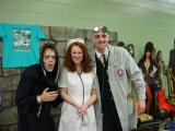 Oogsley, Nurse Monique and Dr. Gangrene of Chiller Cinema