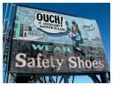 Wear Safety Shoes, Constitution Wharf, Charlestown