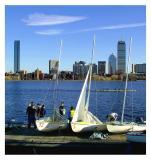Sailing & Crew Practice, Charles River