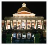 3/24: Massachusetts State House at Night