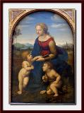 La belle jardinière     by Raphael