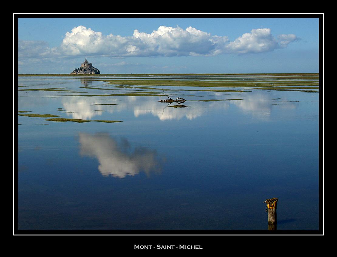 Mont-St-Michel Bay