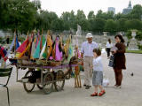 Paris sailboat vendor