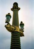 Paris lamppost