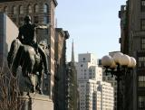 Washington on His Mount Looking Down Broadway