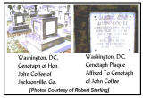 John Coffee Washington DC Cenotaph