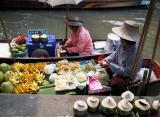 Floating Market (Damnoen Saduak)
