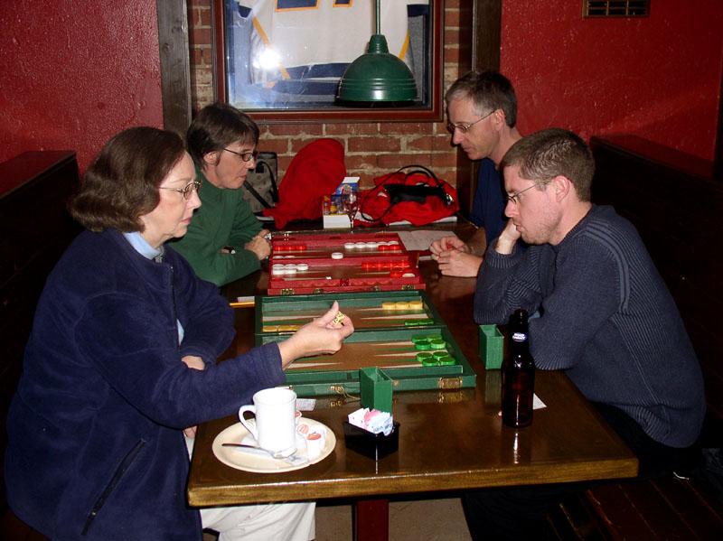 Nancy, Brad, Alison and JP
