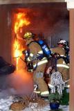 Spring Glen Rd. Fire (Shelton) 3/20/05