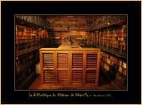 La Bibliothèque Du Château De Chantilly