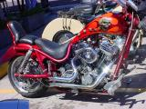 Easter Sunday bike show
