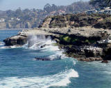 Big waves at La Jolla Cove