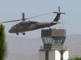 Blackhawk takes off