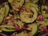 Chef Bergy's Spicy Cucumber Salad #9832